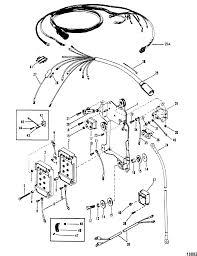 Wiring harness starter solenoid rectifier for mariner mercury