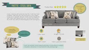 ashley furniture yvette sofa