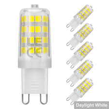 25w Equivalent Bright White G9 Led Light Bulb Lightingever Co Uk 5w G9 Led Corn Bulb 340lm Omni