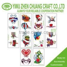 Vending Machine Sticker Suppliers Classy Fashion Body Art Tattoo Sticker For Vending Machine Of Temporary