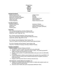 Grad School Resume Template Adorable Graduate School Resume Template Graduate School Resume Templates