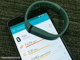 the dashboard in fitbit for android