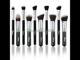 review sixplus professional face makeup brushes sigma dupes