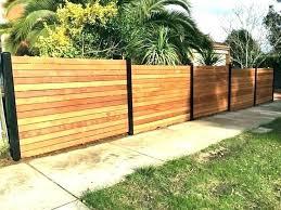 horizontal fence styles. Modern Horizontal Fence Designs Wood Exterior . Styles W