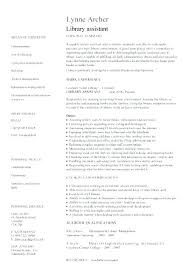 School Librarian Resume Extraordinary Library Job Resume Librarian Resume Examples Sample Media Page