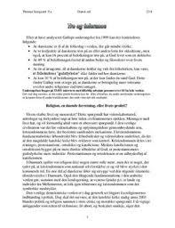 tro og tolerance essay om religion og troens betydning  tro og tolerance essay om religion og troens betydning