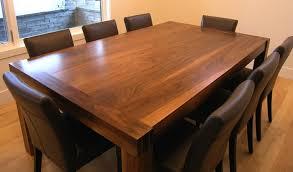 solid walnut handmade dining room table innovative woodworking handmade dining tables on handmade dining