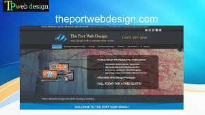 Maine Web Design Excellent Website Design In Manchester Nh By Theport