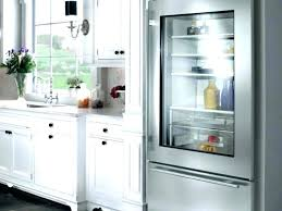 glass front refrigerator freezer glass front refrigerator refrigerator