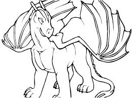 Dragon Coloring Pages For Preschoolers Free Printable Dragon