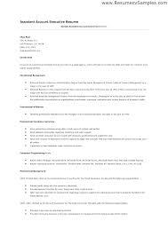 Insurance Account Executive Sample Resume Podarki Co