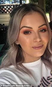 australian makeup artist brooke luke pictured said she was shocked after discovering a job