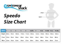 Speedo Swimsuit Size Chart Youth 28 Thorough Jammers Size Chart