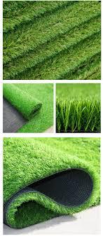 Olive Color Artificial Grass Wedding Decoration Artificial Grass