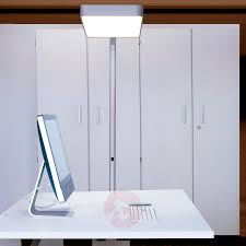 floor lamp office. Caleo S2 Silver LED Office Floor Lamp-6033413X-01 Lamp