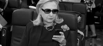 Image result for hillary at computer pics