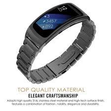 Giá bán Dây Đeo Inox Cho Đồng Hồ Thông Minh Samsung Gear Fit 2 Sm-R360
