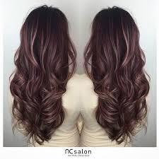 Rose Pink Balayage Highlights Vlasy Vlasy Zesvětlené Proužky