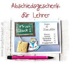 Abschiedsgeschenk Lehrer Ideen Und Vorlagen Im Blog