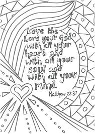 Bible Verse Coloring Pages For Toddlers Scripture Verse Coloring