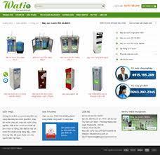 Thiết kế website máy lọc nước RO tại MediaMart đẹp SEO tốt - VietWebGroup.Vn