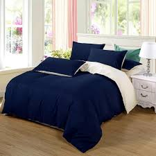 details about bedding set king size duvet cover dark blue beige red green bed covers sets new