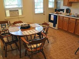 kitchen and dining area of wyomissing garden apartment in reading pa