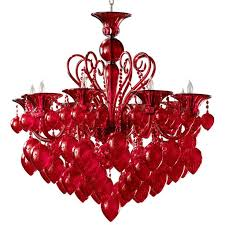 contemporary red chandelier awesome 107 best lighting and chandelier images on and inspirational red chandelier