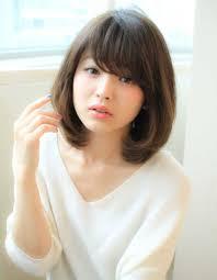 可愛いひし形ミディアムスタイルsy 355 ヘアカタログ髪型ヘア