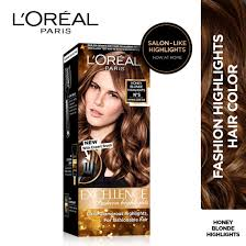 Loreal Paris Excellence Fashion Highlights Hair Color Honey Blonde 29ml 16g