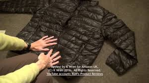 review of zshow down jacket for men