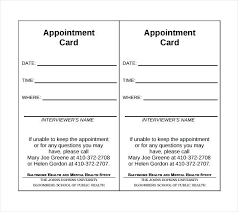 Appointment Cards Template Word Template Monster Login Free Blank Business Card Templates Printable