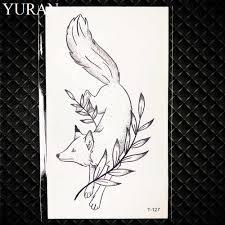 модный браслет татуировка лотос обувь для девочек косметическая наклейка для
