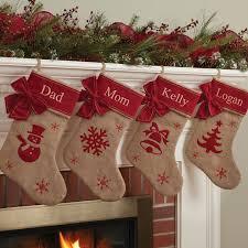 burlap stocking diy