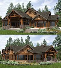 mountain vacation home plans homes floor striking designs 1