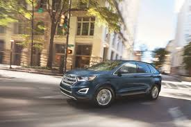 2018 ford australia. brilliant australia 2018 ford edge blue color on road u2013 upcoming suv in australia on ford australia