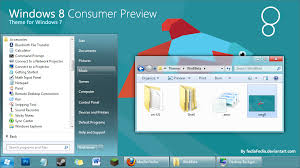 Windows 8 Consumer Preview For Win7 By Fediafedia On Deviantart