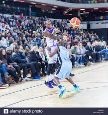 Copper Box Arena, London, 14th Jan 2017. Lions' Alex Owumi 15) goes Stock  Photo - Alamy