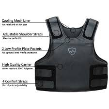 Paca Body Armor Size Chart Concealable Multi Threat Vest Level Iiia