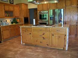 Pine Kitchen Furniture Knotty Pine Cabinets Kitchen Wood And Home Decor Tips Upgrade
