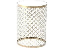 gold metal side table round metal side table round metal bedside table gold metal side table