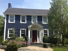 blue exterior paintChoosing Benjamin Moore Exterior Paint