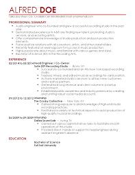 Resume Templates: Head Engineer