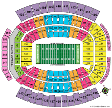 Jacksonville Jaguars 3d Seating Chart Tiaa Bank Field Jacksonville Jaguars Football Stadium