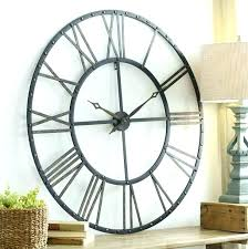 rustic wall clocks large metal wall clocks rustic metal wall clock clocks large wood wall clock