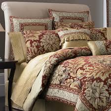 Bedding Bedroom Stunning Bedspread Sets For Modern Design With Red ...