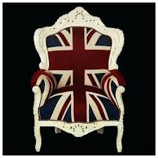 union jack armchair plump union jack print throne armchair white wood frame antique armchair ben sherman
