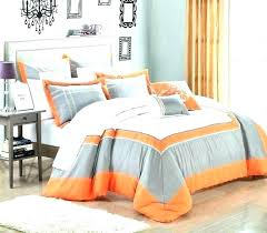 blue and grey cot bedding set orange comforter sets ac navy black yellow bed grey and blue baby bedding