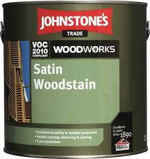 Woodworks Satin Woodstain All Colours