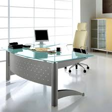 glass home office desk. home decor modern office desk glass marvelous g